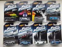 Hotwheels Fast & and Furious set Skyline Ford Subaru Porsche Plymouth All New