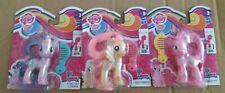 BNIP 3 My Little Pony Scan&Play Starlight Glimmer,Fluttershy & Pinkie Pie