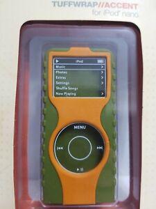 XtreneMac TuffWrap accent for iPod nano Olive/Orange