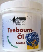Teebaum Öl Creme (100ml = 3,96 Euro)Teebaumcreme mit Jojoba Öl gegen Akne  250ml