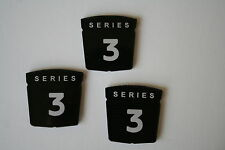 Sunbeam Alpine Series 3 Fender/Trunk Badges NEW Reproduction