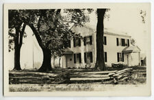 RPPC John Kinzie Indian Agency House Portage Wisconsin 1930s Photograph