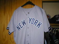 1992 RUSS MEYER NY Yankees game worn used jersey Steiner