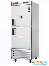 Everest EBWRFH2 Upright Reach-In Dual Temp Refrigerator/Freezer Combo