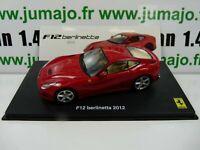 FGT2A voiture 1/43 IXO hachettes FERRARI GT : F12 berlinetta 2012