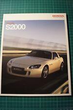 Honda S2000 Brochure 2007