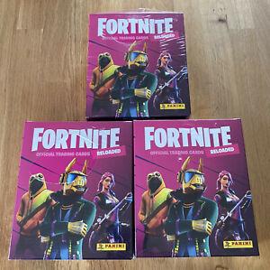 Panini Fortnite Serie 2 Reloaded Trading Cards - 3 x Mega Box - NEU & OVP
