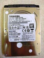 "New Toshiba Thin HDD 500 GB 7200 RPM 2.5"" SATA Notebook HD MQ01ACF050"