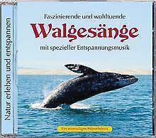 Naturgeräusche: Walgesänge mit spezieller Entspannung...   CD   Zustand sehr gut