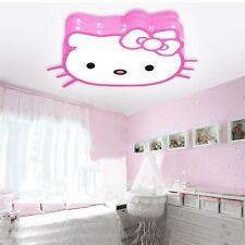 Hello Kitty Led Lamp Kids Ceiling Light Fixture Lighting Toy Girls Home Decor