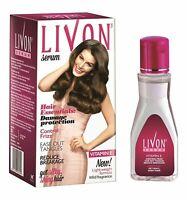 Livon Hair Serum Damage Protection Anti Frizz Breakage Silky Shiny 100 ml