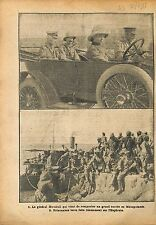 General Marshall British Army Mesopotamia Mésopotamie War WWI 1918 ILLUSTRATION