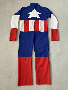 Captain America Costume Dress Up - Older Kids /Teen - Measurements Given