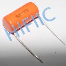 2PCS Sprague Orange Drop capacitor CDE 715P 2.5% 400V 0.47UF