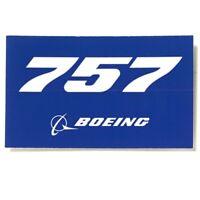 Boeing 757 blue Aufkleber Boeing Sticker original Boeing Merchandise NEU 10x5,5