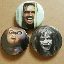 Horror Icons Badge Set The Shining Childs Play The Exorcist