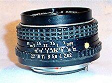 Asahi SMC Pentax-M 1:2 50mm SLR Camera Lens & Filter Japan