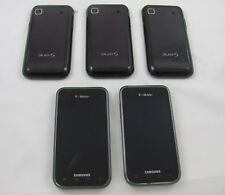 5 Samsung SGH-T959 Galaxy S Vibrant T-Mobile Phone Lot Wi-Fi w/Travel Chrger