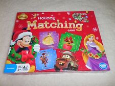 Disney Holiday Christmas Matching Memory Game Mickey Minnie Tinker Bell Mater