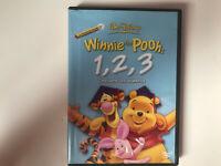 WINNIE THE POOH DVD 1 , 2 , 3 WALT DISNEY ESPAÑOL FRANCES INGLES HOLANDES