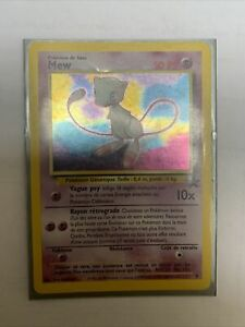 Carte Pokémon | Mew | Holo | PROMO BLACK STAR N° 9 | Wizards | FR