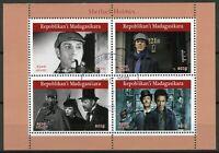 Madagascar Stamps 2019 CTO Sherlock Holmes TV Series Benedict Cumberbatch 4v M/S
