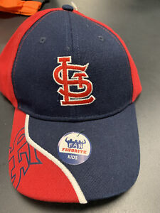 St. Louis Cardinals MLB Kids Youth Cap Hat Red And Gray 2013 2006 World Series