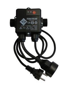 Pumpensteuerung FLUOMAC FC2 mit Kabel elektronischer Druckschalter bis 1,1KW