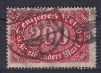 DR Mi Nr. 248 c, geprüft Infla Berlin, gest. Crefeld, Ziffer 1922, used