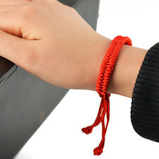 Adjustable Red STRING Kabbalah hand Bracelets Lucky Charm Jewelry Newest