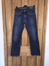 "G-star Raw 3301 Indigo Blue Straight Leg Jeans Size W30"" L30"" *C1"