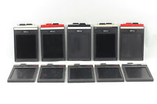 **Exc+++++** FIDELITY and Lisco 4x5 Cut Film Holders Set of 10 From Japan #0089