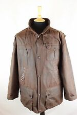 Barbour Bushman Windproof Hunting Shooting Wax Waxed Rewaxed Jacket Coat Large