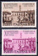 Italia 1221-1222, posta freschi/**/Campidoglio Roma, Contratti Romani