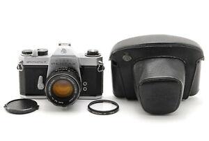 【Exc+5 W/Case】Asahi Pentax Spotmatic F SPF w/ smc Takumar 55mm f/1.8 From JAPAN