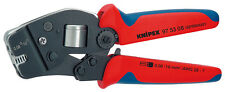 Knipex 975308 Self-Adjusting Crimping Pliers For End Sleeves  7 1/2 In
