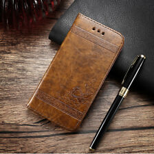 Full Body Protection Flip Wallet Leather Case Magnetic Soft Rubber Phone Cover
