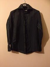 Unbranded Men's No Pattern Long Sleeve Button Down Casual Shirts & Tops