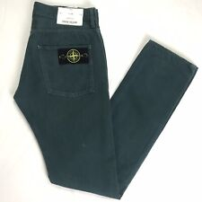 Men's Stone Island Green Jeans Chino's Skinny Fit Genuine Size W31 L34 RRP £200