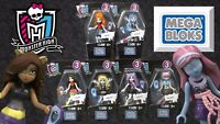 Mega Bloks Monster High Ghouls Skullection Mini Figures Series 3