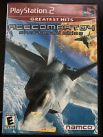 Ace Combat 4 GH (Sony Playstation 2 ps2) Complete In Box!!!!