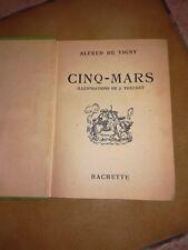 Livre 1937 - Cinq-Mars  (Alfred de Vigny)