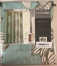 New Madison Park Essentials  100% Polyester Microfiber Printed Shower Curtain
