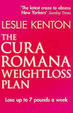 Kenton, Leslie, The Cura Romana Weightloss Plan, Very Good Book