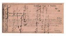 186X Confederate States of America Idr, No.331 Staunton, Va - Benjamin Crawford
