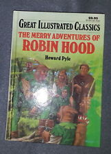Great Illustrated Classics The Merry Adventures Of Robin Hood by Howard Pyle (Hc