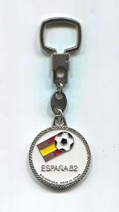 FOOTBALL SOCCER 1982 FIFA WORLD CUP SPAIN ESPANA OFFICIAL KEYCHAIN KEYRING
