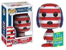 Patriotic Snoopy Peanuts 2016 Exclusive POP! Animation #139 Vinyl Figur Funko