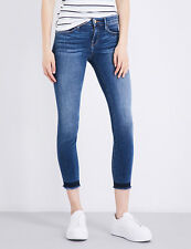 Frame Denim Le skinny released hem skinny mid-rise jeans Dunesboro SZ 25 New