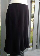 Louben Skirt  black  Size 10  Flare  Stretch A-Line  rt: $152